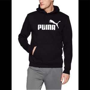 Puma Hoody black size medium &Small reg fit NWT